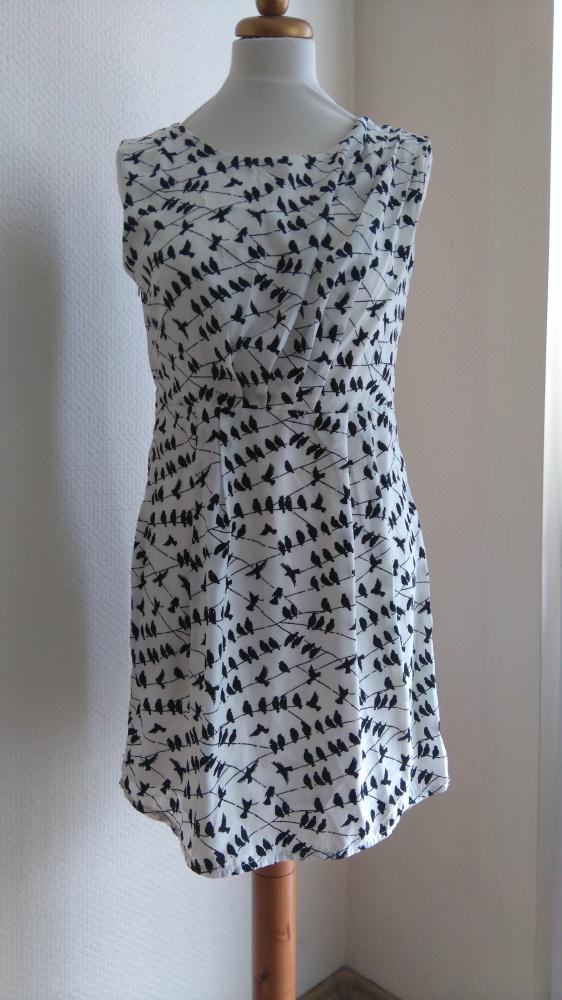 NOWA New Look Sukienka w ptaki w ptaszki 38...