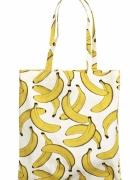 NOWA z metką H&M Torba w banany Torba shopper...