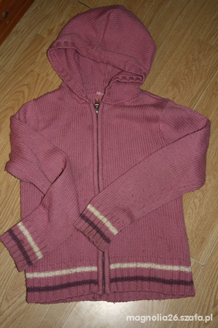 Bluzy Sweter z kapturem 140