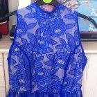 Koronkowa kloszowana sukienka