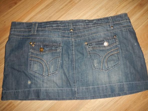 Dorothy Perkins jeansowa mini 50 spodniczka spodnica...