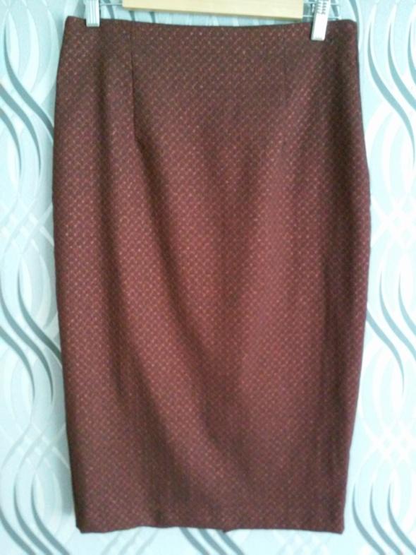 Spódnice ołówkowa bordowa