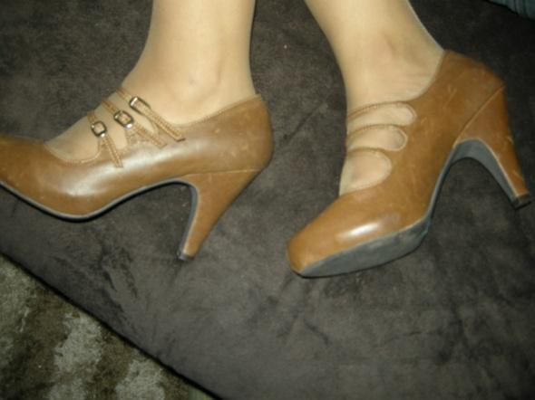 Atmosphere czolenka buty szpilki nude 38...