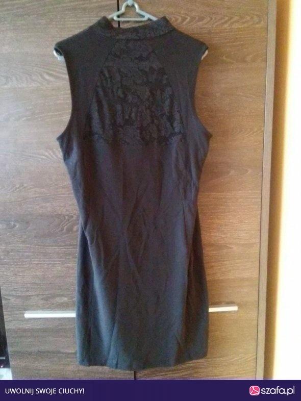 Suknie i sukienki CZARNA SUKIENKA 40