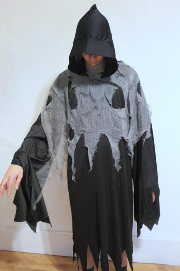 Przebranie kostium karnawałowy 2 częściowy duch upiórśmierć r X...