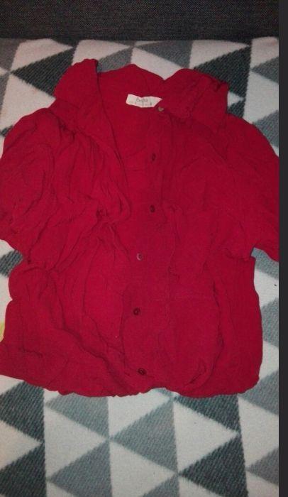 czerwona koszula...