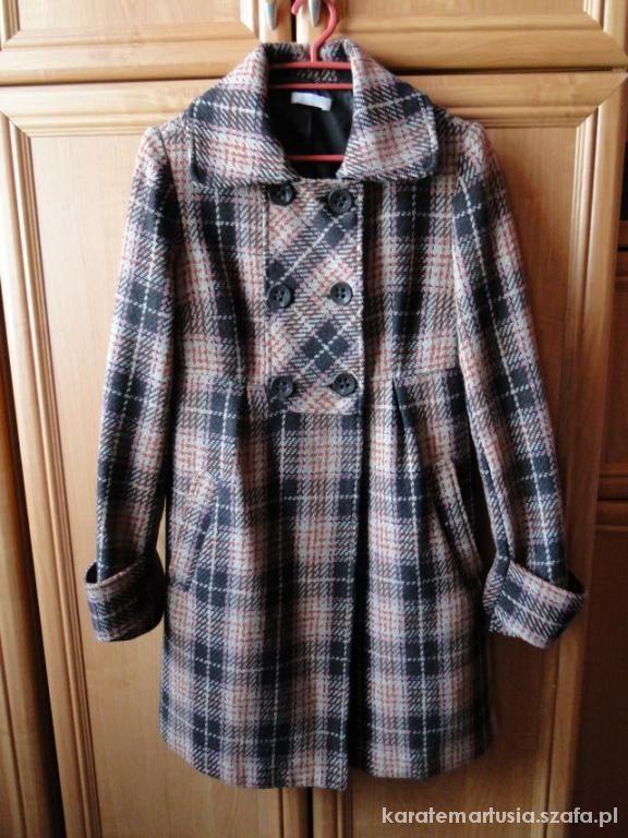 Dłuższy płaszcz PROMOD 38 M