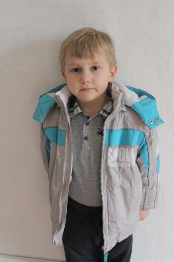 Zimowa kurtka chłopiec r 110122