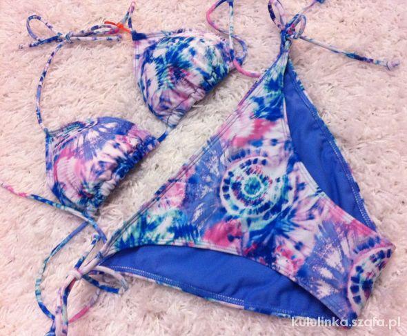 Stroje kąpielowe Tęczowe Bikini Mazgaje Galaxy Ombre
