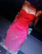 Czerwona sukienka Jane Norman