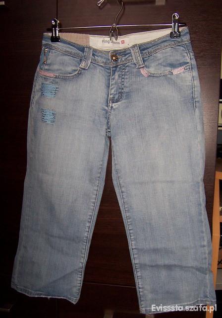 Spodenki Ping Jeans rybaczki roz 28