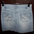 Jasna jeansowa spódniczka mini XS S