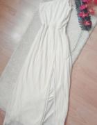 sukienka maxi plisowana...