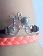 bransoletka rower...