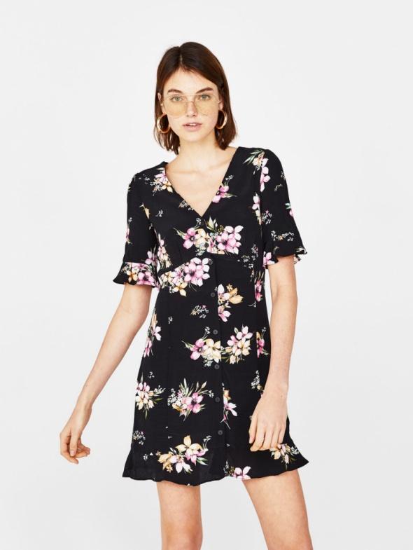 Suknie i sukienki bershka floral m