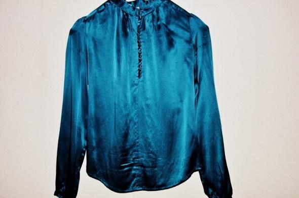 satynowa elegancka bluzka rozmiar 36