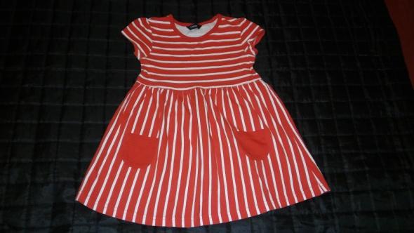 Sukienki i spódniczki Czerwona sukienka rozm 98 104