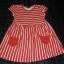 Czerwona sukienka rozm 98 104