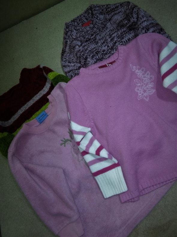 Polary 4 ciepłe swetry zestw 110 116 cm 5 6 lat