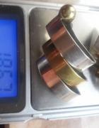 piekne stare srebro 925 ze złotem złoty 585 333...