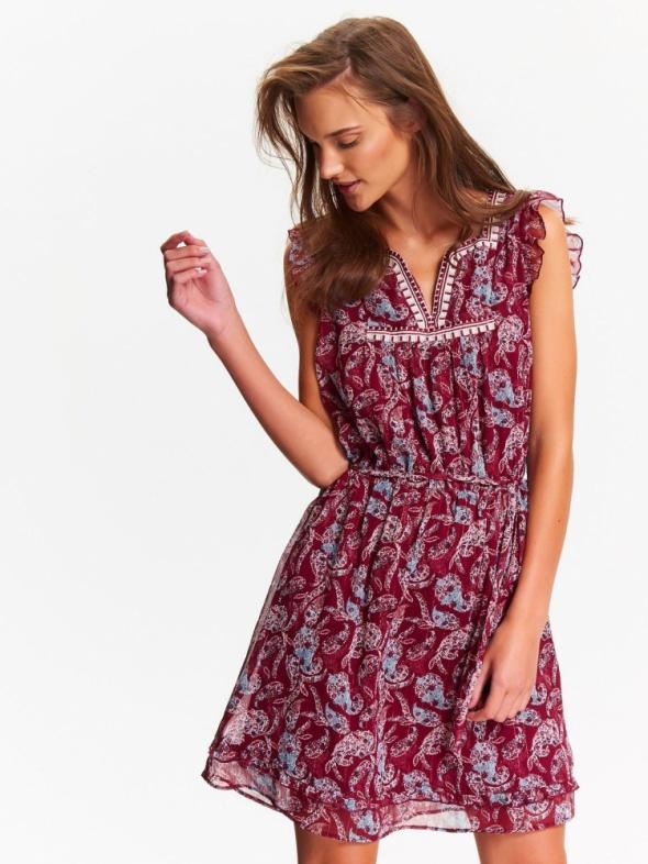 NOWA sukienka TOP SECRET zwiewna XS S