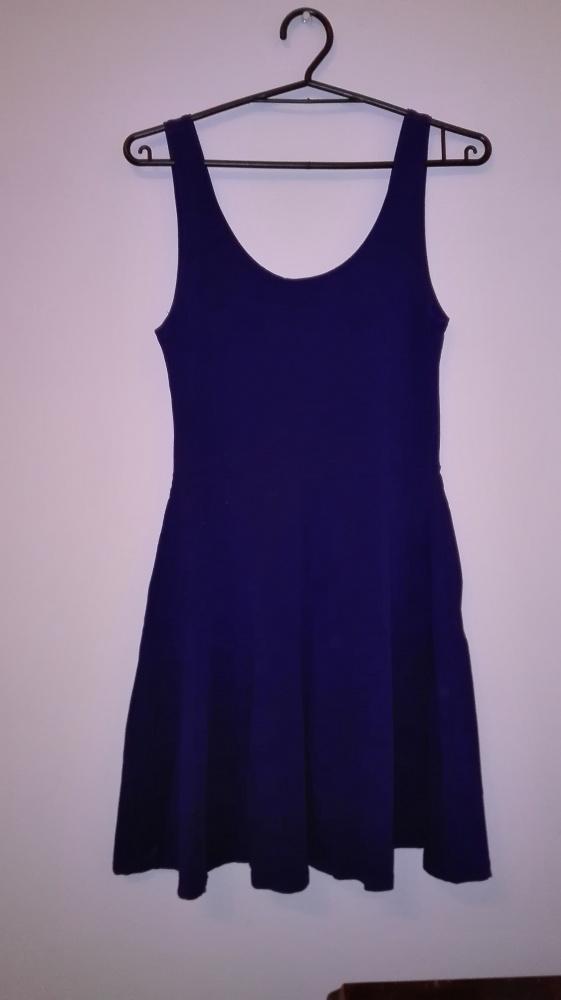Niebieska sukienka Top Shop