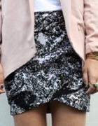 H&M TREND spódnica Biało Czarna KIM XS...