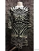Sukienka H&M motyw zebry S...