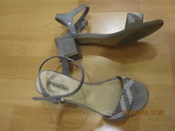 Szare sandały Jenny fairy 38...