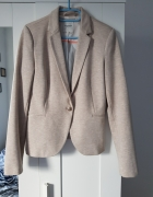 Żakiet Reserved dresowy beżowy łaty
