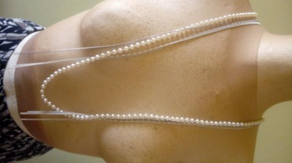 korale łańcuszki perełki