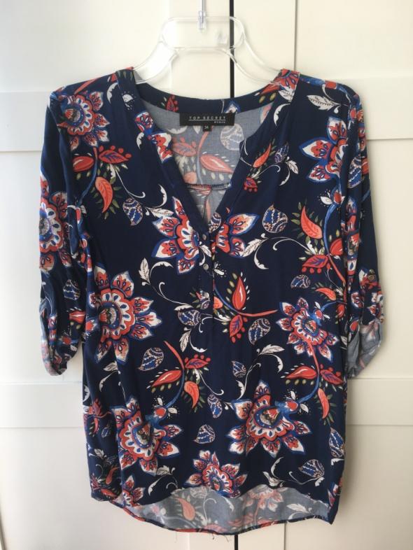 Bluzki Bluzka koszula Top Secret wzory