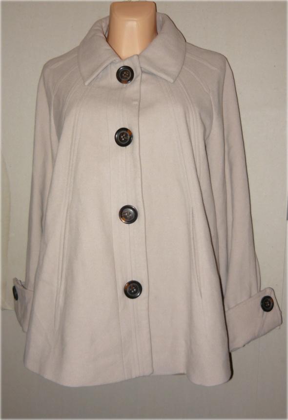 Classics kurtka grzybek płaszczyk beż zima 48 50