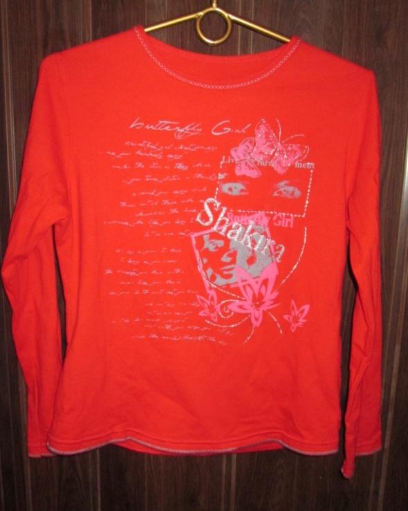 Bluzeczki dla dziewczynki 2 kolory roz 128