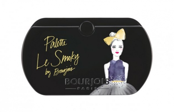 Bourjois Le Smoky Paletka 8 cieni nowa