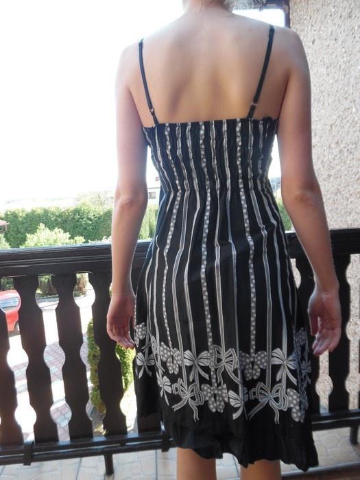 2634f22b97 Sukienka czarno białą rozmiar L M w Suknie i sukienki - Szafa.pl