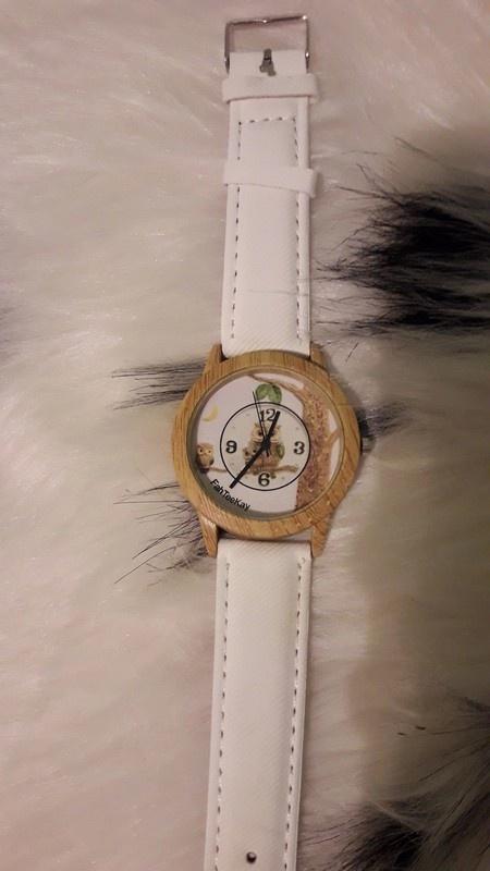 Nowy zegarek biały