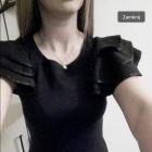 Czarna obcisła sukienka