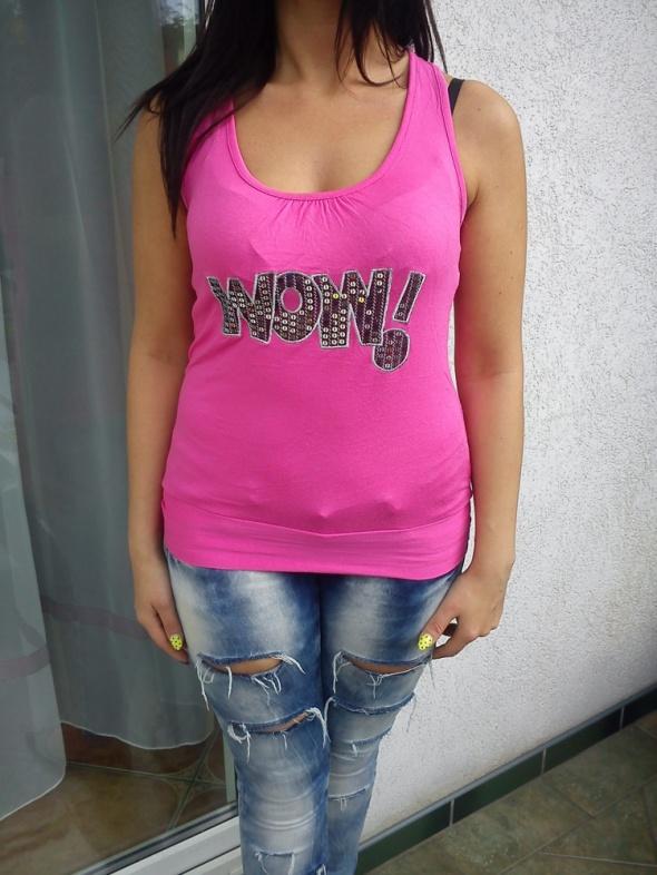 Sliczna rozowa bluzeczka