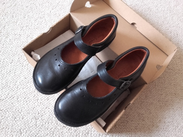 Czarne martensy foot loose 39 40 lolitki nowe 255 cm
