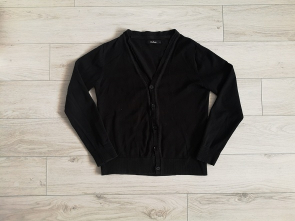 Sweterek Cubus S M czarny zapinany...
