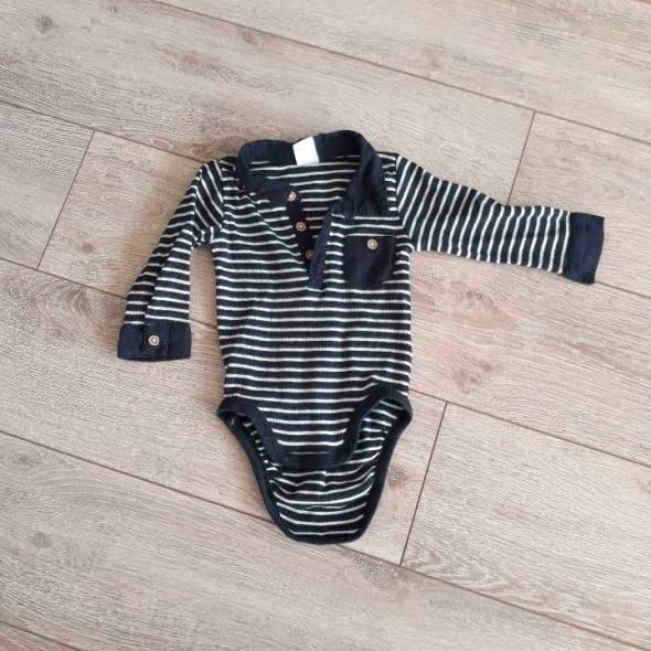 Body koszula dla chłopca H&M roz 68