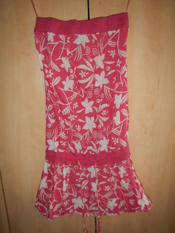 Soul Cal rozowa sukienka tunika S