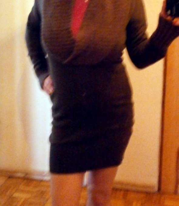 Sweterek jak sukienka