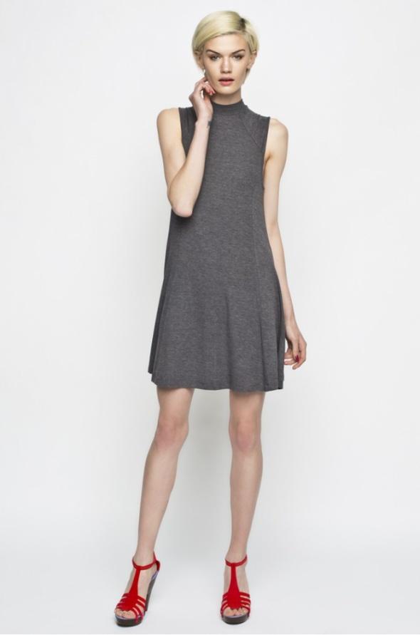 Sukienka Medicine Answear XL 42 mini szara sweter w Suknie i