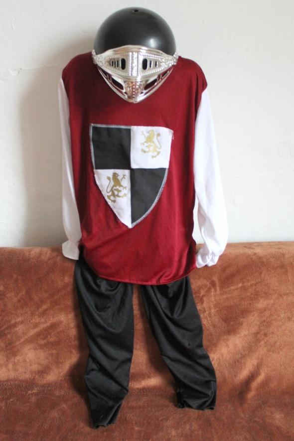Przebranie kostium rycerza 3 części r 140