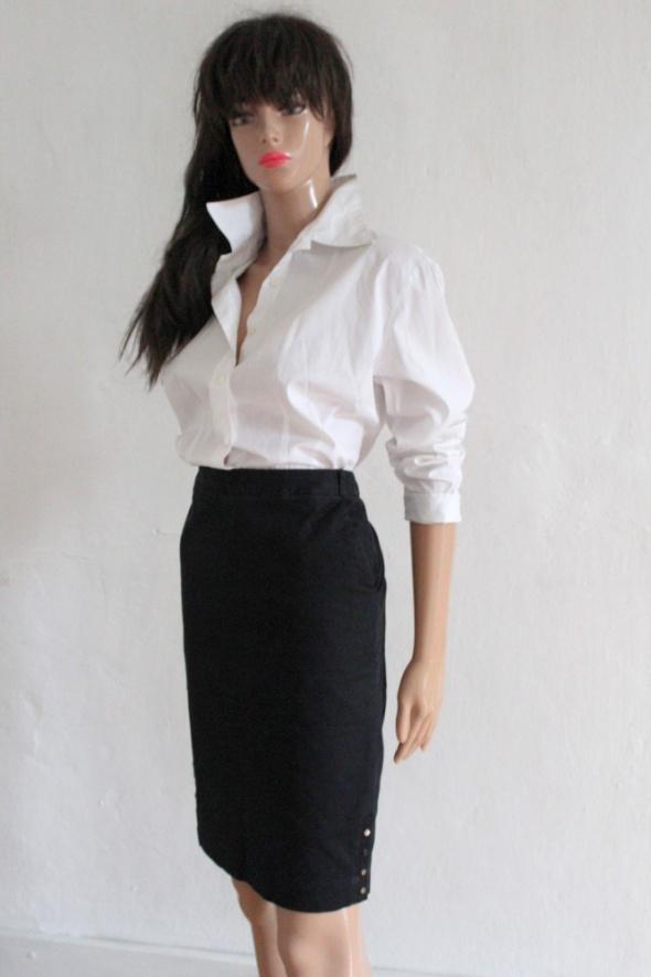 Spódnice Czarna ołówkowa spódnica r S