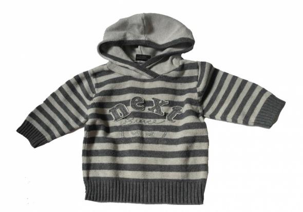 Next sweterek z kapturem 68