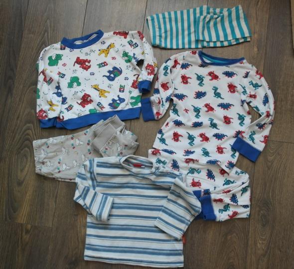 Piżamki dla chłopca 74 86