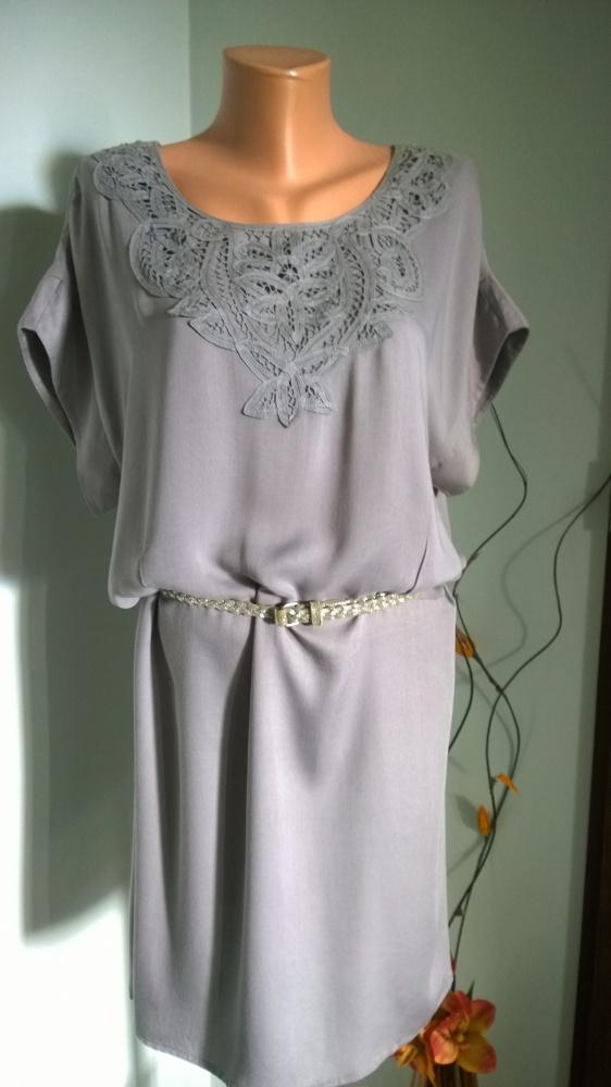 sukienka z koronką 40 42